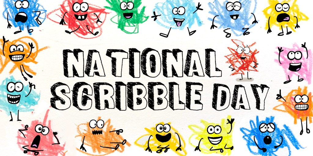 FaceBook Live National Scribble Day Special Children's class @ Cooke County Library | Gainesville | Texas | United States